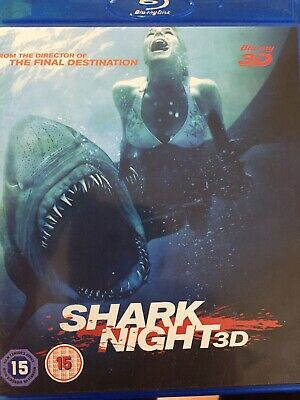 Shark Night - 3D Bluray 2011 As New!