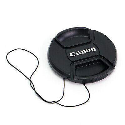 Snap-on Front Lens Cap Cover for Canon 52/55/58/62/67/72/77/82mm