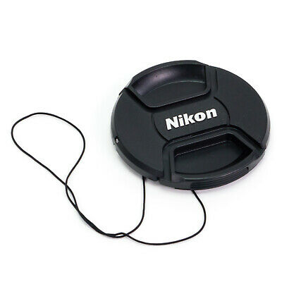 Snap-on Front Lens Cap Cover for Nikon 52/55/58/62/67/72/77/82mm