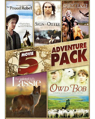 NEW 5 Movie Family Adventure Pack VOLUME 2 DVD James Cromwell Colm Meaney FIVE
