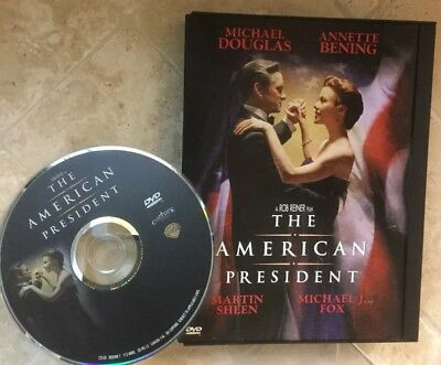👀L@@K❗️The American President (1999) DISC ONLY  NO CASE ~ MINT & FAST SHIP❗️
