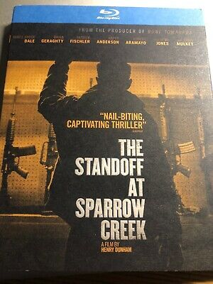NEW THE STANDOFF AT SPARROW CREEK BLU RAY + SLIPCOVER SLEEVE FREE WORLD Like New