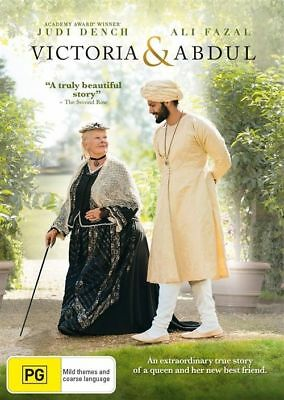 Victoria & Abdul DVD : NEW
