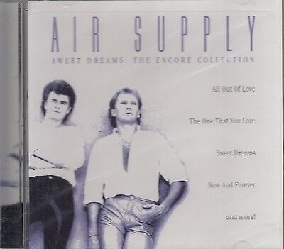 Air Supply Sweet Dreams The Encore Collection CD New Sealed
