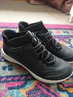 Ecco Leather Sneaker Boots 39