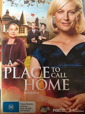 A PLACE TO CALL HOME - Season 4 3 x DVD Set AS NEW! Complete Fourth Series Four