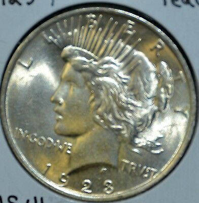 * 1923-P MS High Quality UNCIRCULATED/UNC  PEACE SILVER DOLLAR $1 COIN