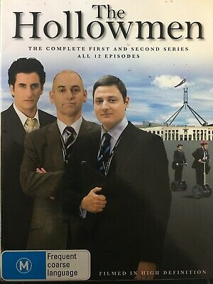 THE HOLLOWMEN - The Complete Series 1 & 2 3 x DVD Set Exc Cond! First Second