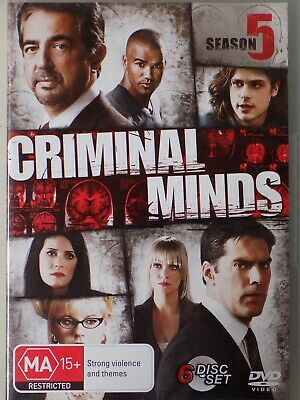 CRIMINAL MINDS - Season 5 6 x DVD Set BRAND NEW! Complete Fifth Series Five