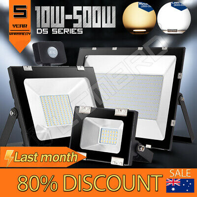 10W-500W Buckle LED Flood Light Outdoor Garden Arena Floodlight Lamp 12V-240V