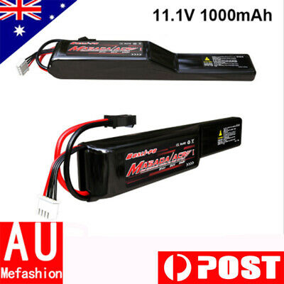 jinming generation 10 ACR 11.1v 1000mAh Rechargeable lipo battery For Toy Gun AU