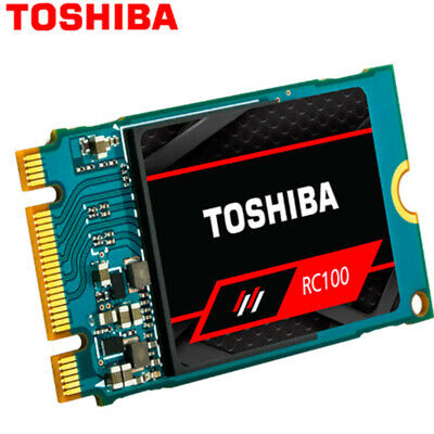 Toshiba SSD 240GB RC100 NVMe PCIe M.2 2242 Internal Solid State Drive Disk 240Go