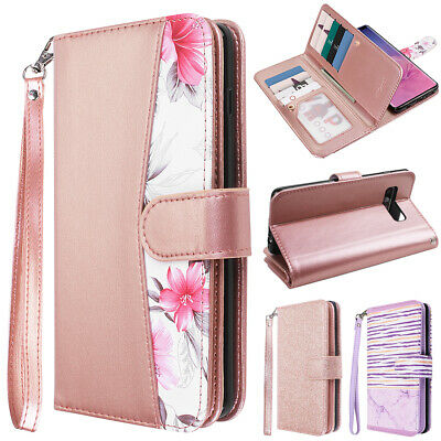 Luxury Wallet Magnet Flip Leather Case Stand Cover For Samsung Galaxy S10+ Note9