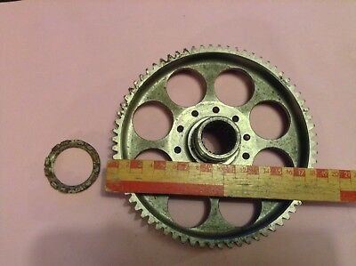 RR Merlin supercharger main drive gear (new old stock)