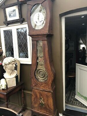 Antique French Comtoise Longcase Clock