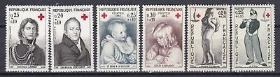France 3 X Different Sets Red Cross  Mint Never Hinged