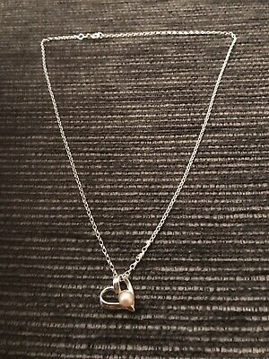 Silver Set Pearl Necklace