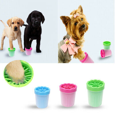Portable Dog Cat Pet Paw Cleaner Pet Paw Plunger Mud Cleaner Washer Mudbuster