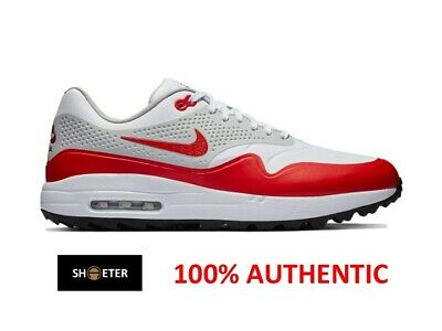 official photos abd58 bf653 Nike Air Max 1 1G Golf Sport Red AQ0863-100 UK EURO Men s Size 7