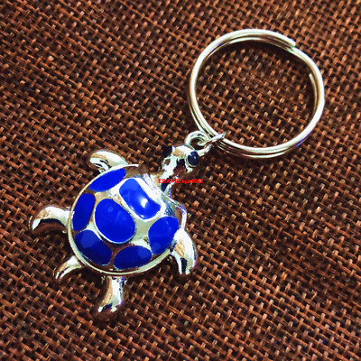 Japanese Netsuke Phone Keychain Bell Charm Gold Turtle Good Luck Made in Japan