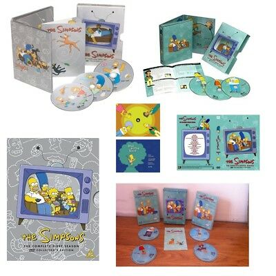 The Simpsons season 1 + 2 Collectors DVD FOX US Animation Used Condition