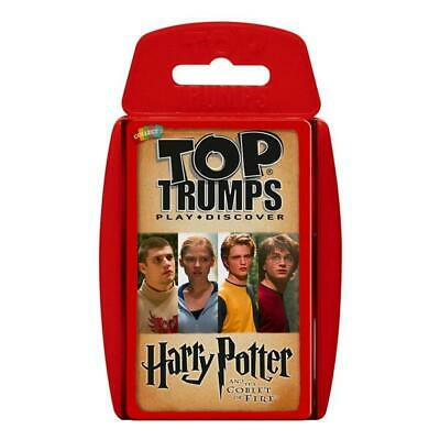 Top Trumps Educational Fun Card Game - HARRY POTTER - The Goblet Of Fire