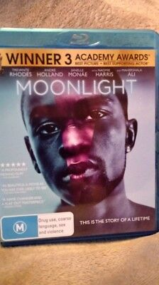 Moonlight - Blu-ray (2017) New & Unsealed - Region FREE  CHEAPEST ON EBAY