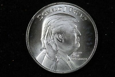 President Donald Trump 1oz .999 Swearing In At The White House 45th!! #H18123