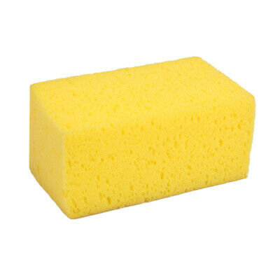 Car Wash Sponge Auto Cleaning Cloth Washing Absorbent Foam Cleaner Tool Yellow