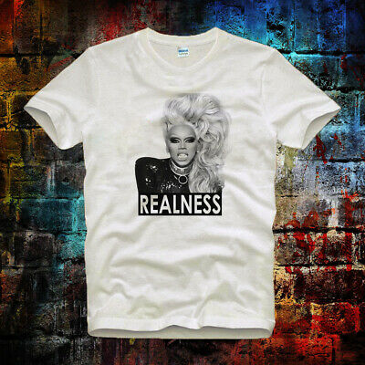 RuPaul Realness Drag Race Gay Queen Pride Slogan Cool LGBT Unisex T Shirt 478b