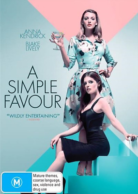 A Simple Favour (DVD, 2018) NEW