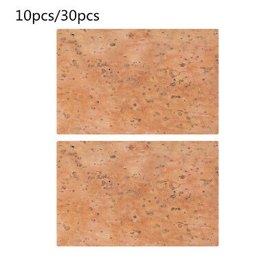 10pcs/30pcs Professional Saxophone Clarinet Pad Set Natural Neck Cork Sheet