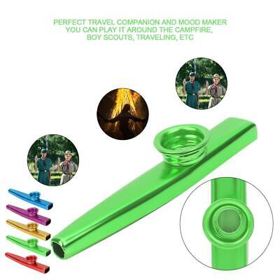 Metal Kazoo Flute Mouth Harmonica Music Instruments Portable Toy Kids Party Gift