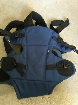 Mothercare 3 Position Baby Carrier Blue  (small hole no head hugger)