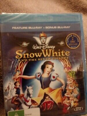 Snow White 2 Discs Limited Edition  - BLU-RAY - Region B [New & Unsealed]