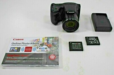 Canon PowerShot SX420 IS, 20MP Digital Camera w/ Charger & 2 Batteries