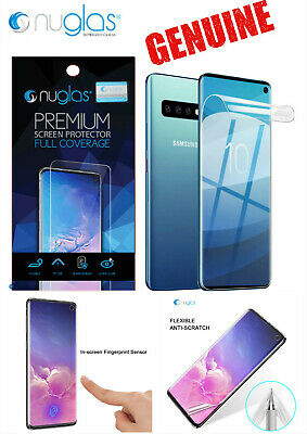 2 X Genuine NUGLAS Samsung S10Plus / S10/ S10e TPU Full Cover Screen Protector
