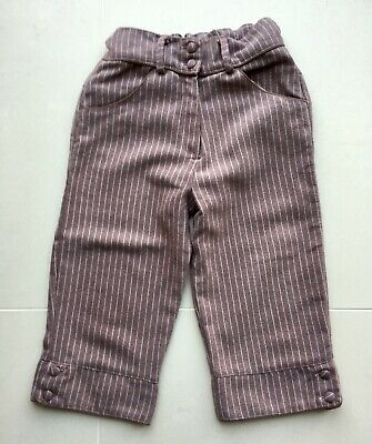 Beautiful D'arcy Brown Girls Culottes Age 6