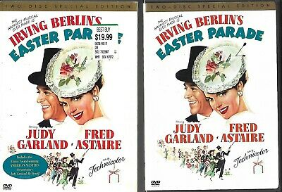 Easter Parade (OOP 2004 DVD, 2-Disc Special Ed) Judy Garland, Fred Astaire