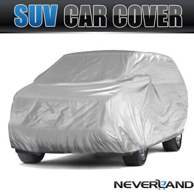 Extra Large Universal SUV Full Car Cover All Weather Protection Dust Breathable