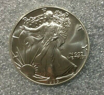 1986 American Silver Eagle ~~~ Stunning Specimen - must see pics  (8612)