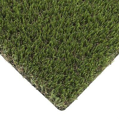Crocus 30mm Realistic Artificial Grass Natural Garden Astro Turf 2m 4m 5m Wide