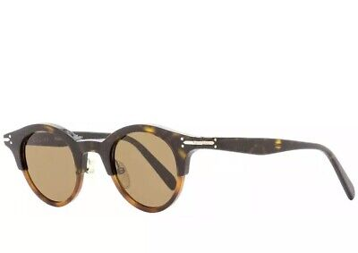 3cb959d8394 NWT CELINE OVAL Sunglasses CL41395S T6UA6 Dark/Light Havana 45mm 41395 MSRP  $395