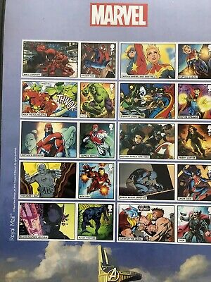 Royal Mail 2019 Marvel Comics  Stamps Characters  Collector Stamp Sheet