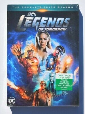 DC's Legends of Tomorrow: The Complete Third Season 3 DVD 2018