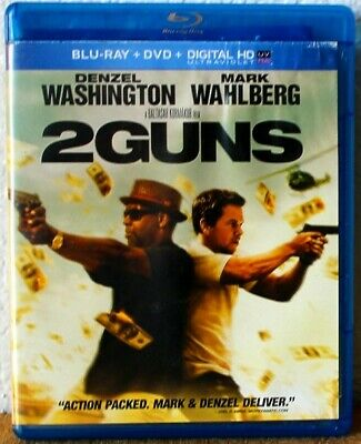 "2 Guns  "" Blu-Ray + DVD+ Digital HD '"