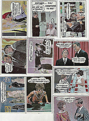 """Vintage 1968 Topps """"Rowan & Martin's Laugh-In"""" Trading Cards 10 NM / Mint cards"""
