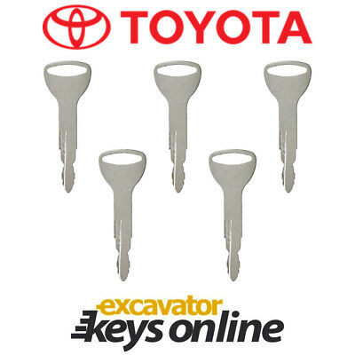 New 5 Newer Toyoto Fork Lift equipment ignition key