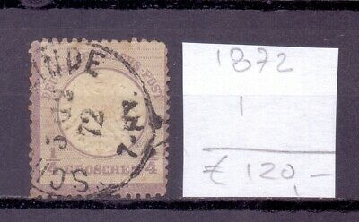 ! Germany 1872. Stamp. YT#1. €120.00 !