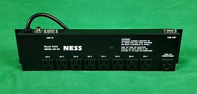 Ness SR-08 Relay Pack